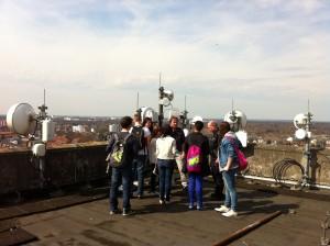 Foto Auf dem Dach