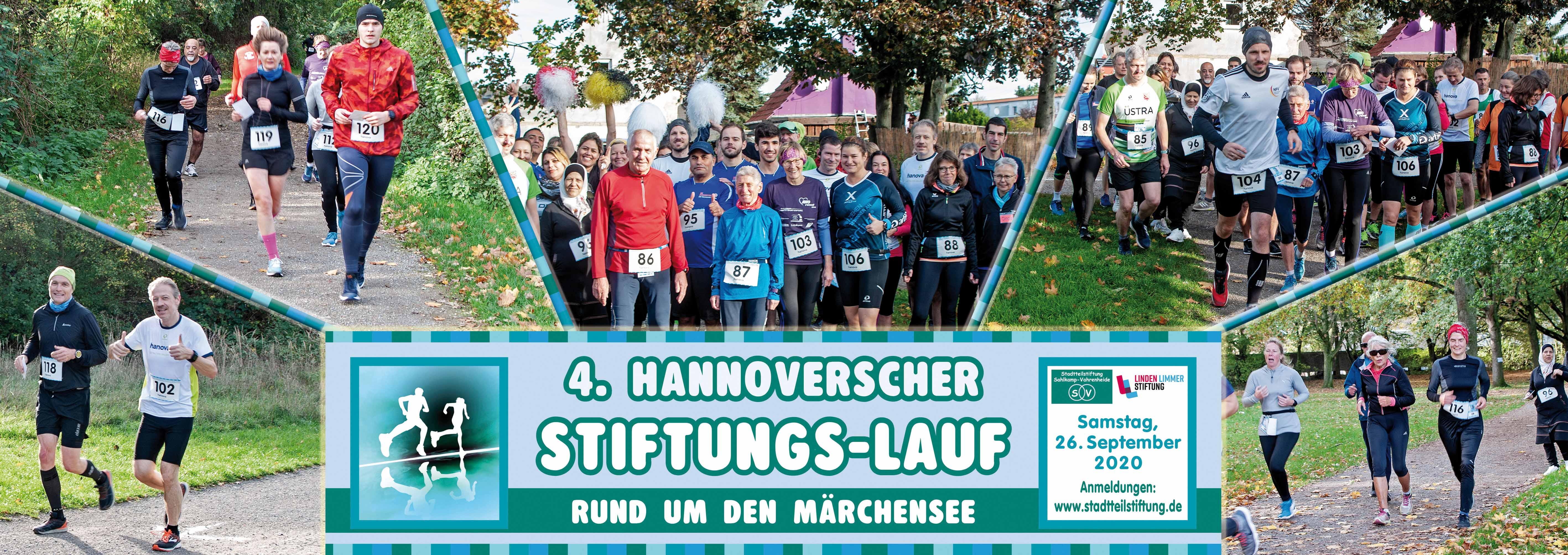 4. Hannoverscher Stiftungslauf Banner
